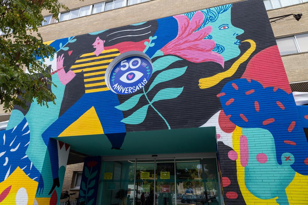 Believe in Art abre una puerta de color en el Hospital Infantil única en toda España
