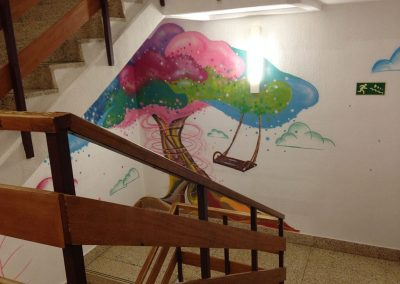 Christian Artcolea - Escalera Hospital Infantil Zgz