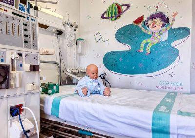 Elisa Piña & Gloria Fuertes - Diálisis Hospital Infantil Zgz