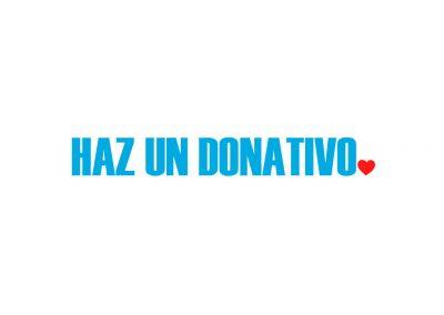 Haz un donativo