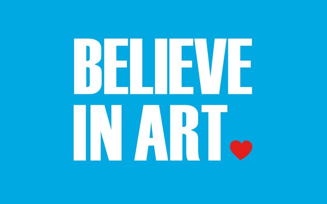 Believe in Art… pero ¡¿porqué en inglés?!