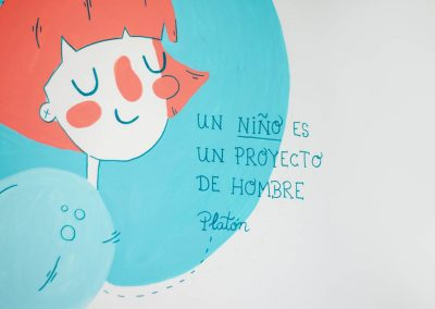 Vera Galindo Hospital de Día de Psiquiatría de niños y adolescentes Parque Goya
