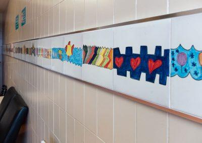 asociación ceramistas de Muel & ampa colegio Muel & aula hospitalaria - Sala de Espera de Cirugia Hospital Infantil Zgz